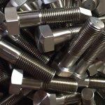 niķeļa sakausējums 600 lv 2.4816 skrūvju riteņu stiprinājumi din931chinese piegādātājam