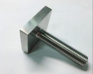 Nickel Cooper monel400 kvadrātveida skrūvju stiprinājums nenoteikts n04400