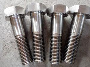 Nr.15-Nitronic 50 XM-19 Sešstūra skrūve DIN931 UNS S20910