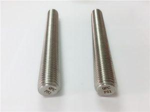 Nr.77 Duplex 2205 S32205 nerūsējošā tērauda stiprinājumi DIN975 DIN976 vītņstieņi F51