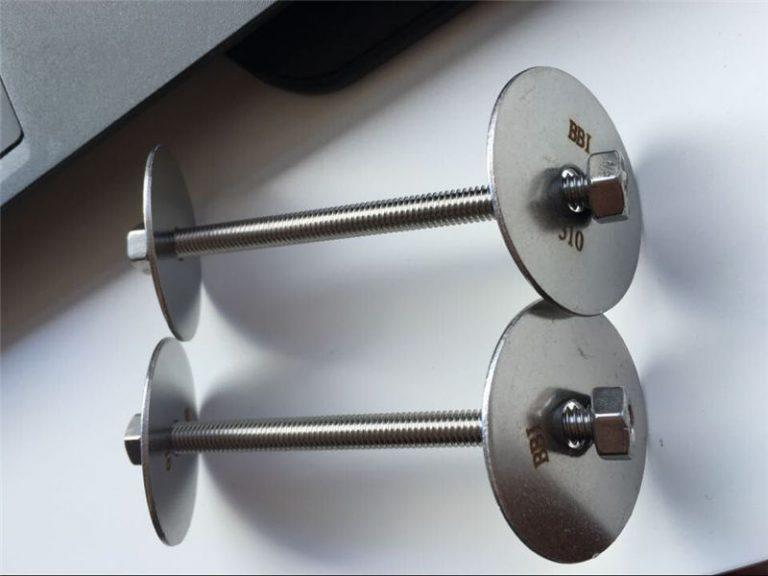 ss310 / ss310s astm f593 stiprinājums, nerūsējošā tērauda skrūves, uzgriežņi un paplāksnes