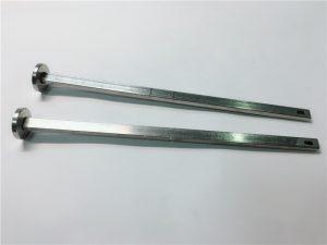 datortehnikas stiprinājumu piegādātājs 316 nerūsējošā tērauda plakanas galvas kvadrātveida kakla din603 m4 karkasa skrūve
